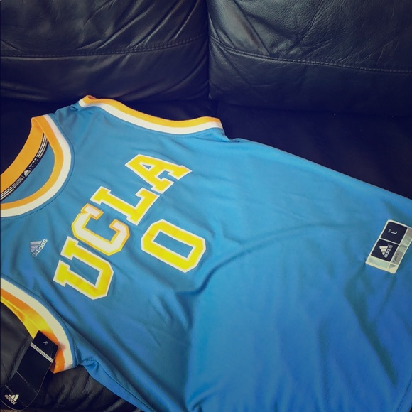 hot sale online c0dfa bb3cb NWT Adidas Russell Westbrook UCLA Bruins jersey! NWT